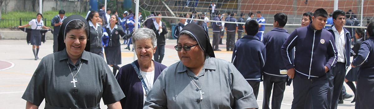 """Schule """"Fe y Alegria 37"""" in Lima"""